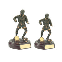 Custom 3d resin soccer action figure for male