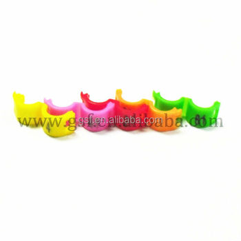 For Sale Plastic Clip Birds Leg Bands With Number,Colorful Yellow Birds  Rings,Open Bird Leg Ring For Tracking Price - Buy Colored Plastic Band