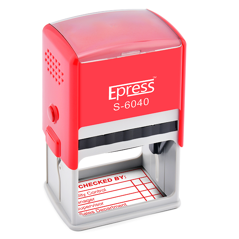 NEW Epress Self-inking Stamper ,Personal Automatic Stamp ,Paid Self inking Rubber Stamp Maker,Stamp numbering S-6040