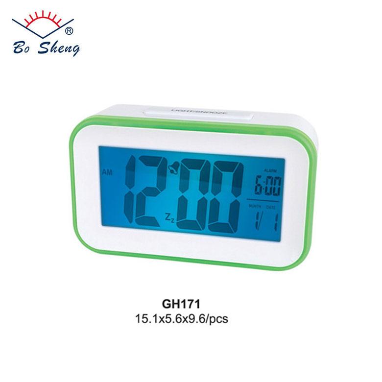 2018 LCD alarm clock snooze clock Backlight table clock