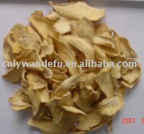 organic vegetable Dehydrated Organic ginger flakes