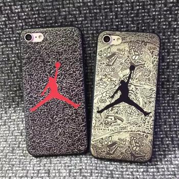 7d37d6e083 Hot TPU Basketball Star Pattern Jordan Superme Phone Case For iPhone 7 Plus  7 6 6S