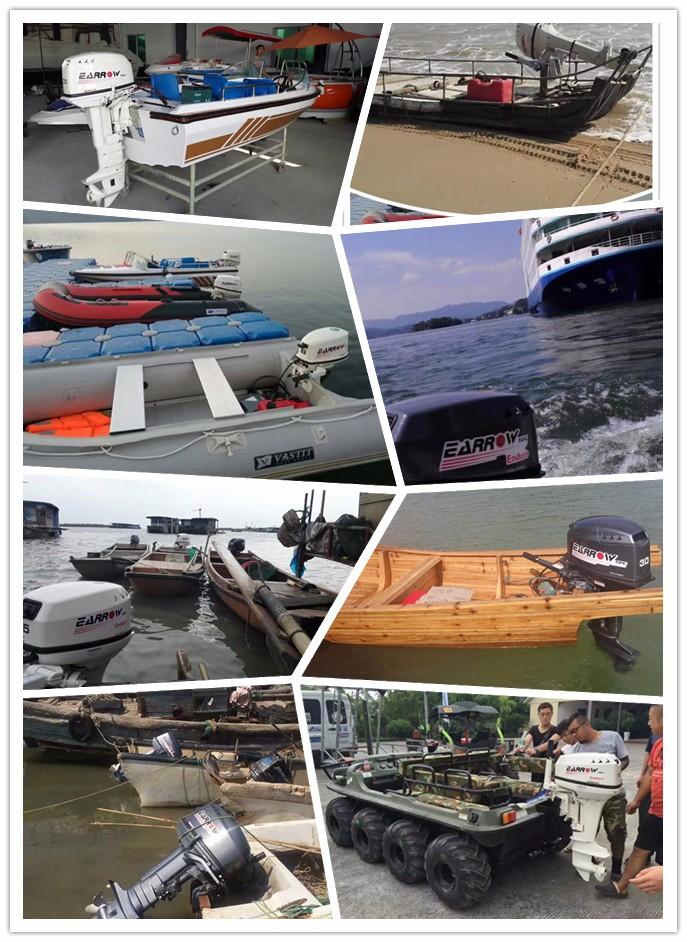 Earrow 30hp outboard motor 2 stroke brand new buy 30hp for Buy boat motors online