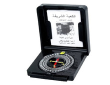 JAXY wholesale promotional PlastIc cheap gift Islamic muslim qibla finder,mecca religious compass with plastic box packed