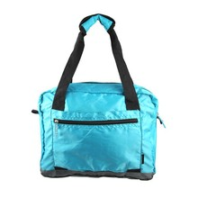 420D Polyester Travel Promotion Foldable Duffle Bag