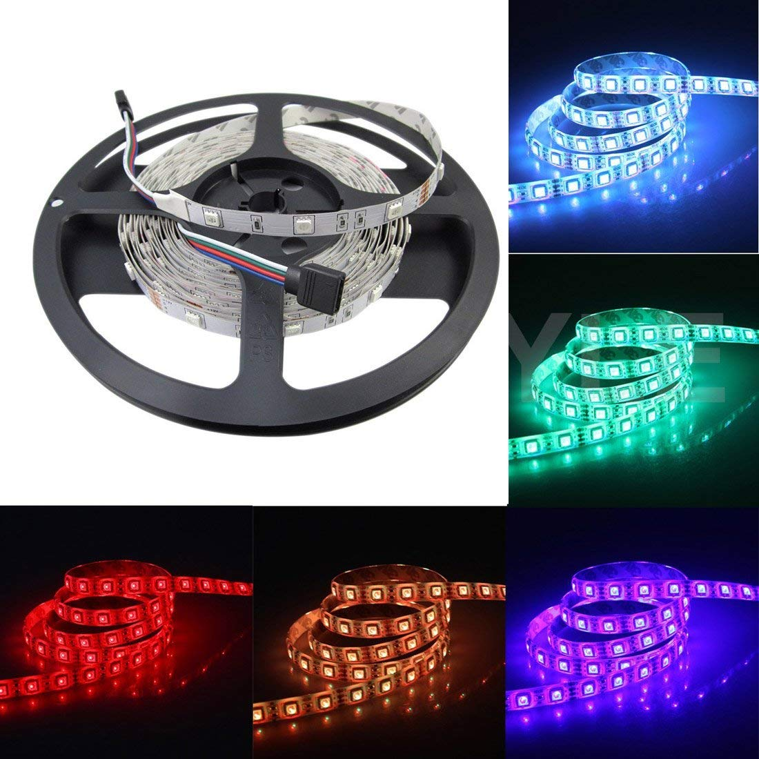 Cheap Led Tape Strip Find Deals On Line At Alibabacom Ul Listed Rgb Lights By The Foot 300 Leds Per Reel Get Quotations Joylit Dc 24v Flexible No Waterproof Super Bright Units