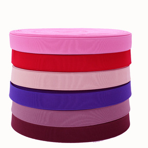1.5 Inch Wide Colorful Knit Heavy Stretch High Elasticity Elastic Band for Garment, Flat Elastic Cord, Spool Sewing Band