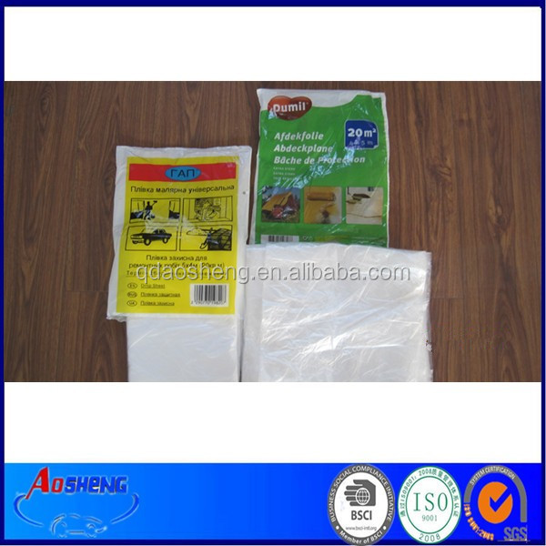 ldpe clear plastic drop clothdust resist film furniture cover buy ldpe clear coverdrop cover product on alibabacom