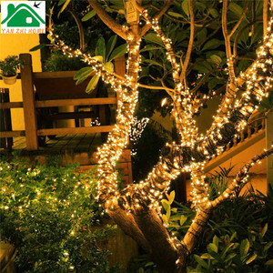 indoor and outdoor christmas holiday lights solar string light led party string