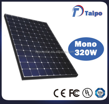 High Efficiency Sunpower Spr E20 327 Mono Solar Panel 96