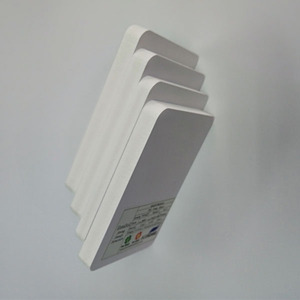 4x8 white airplane model foam board waterproof pvc barge board