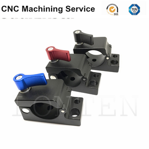 Aluminum cnc machining parts for 3D printing equipment parts in China