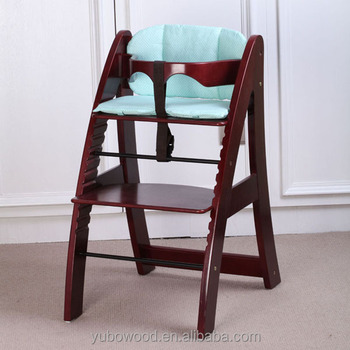 amazon com wooden removable with chair high dp cherry baby tray