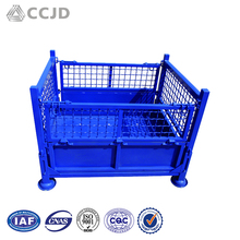 Wire Mesh Pallet Cage Moving Plastic Box Pallet
