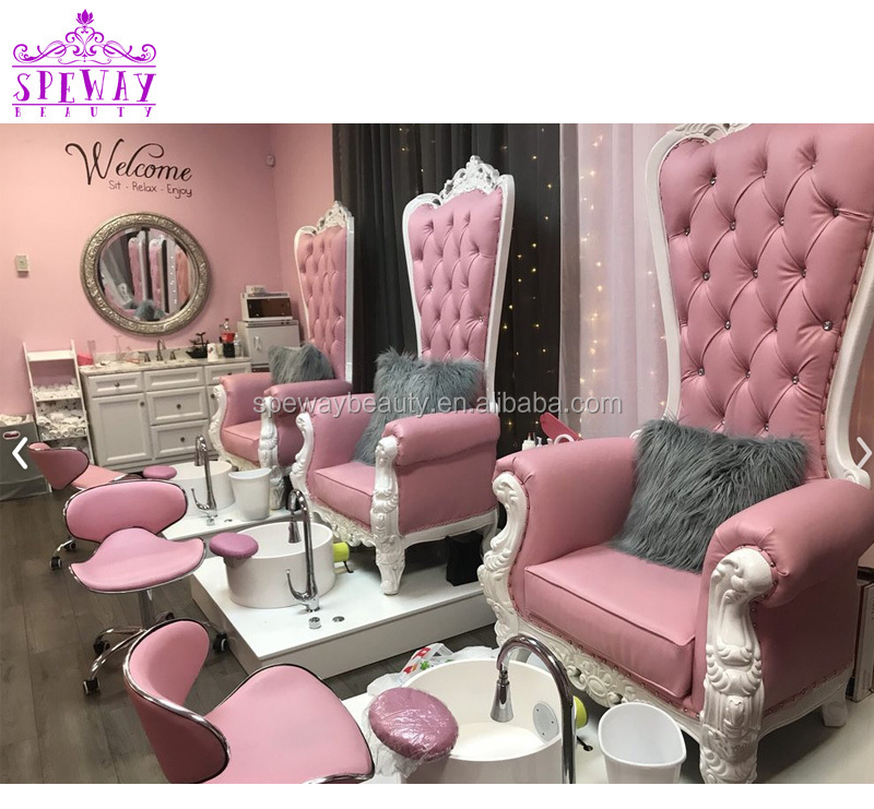 Queen Pedicure SPA Kursi Manikur Pedikur Spa Kursi Pijat Royal Pedicure Kursi