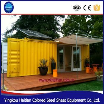 20ft personalizaci n modular prefabricada de acero casa - Acero modular precios ...