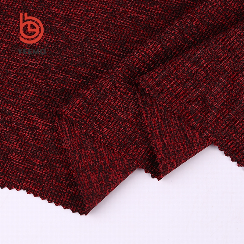 Professional cheap 95%polyester 5%spandex types of silk knit jersey fabric