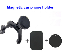 Easy-To-Use universal accessory magnetic adjustable car air vent auto holder