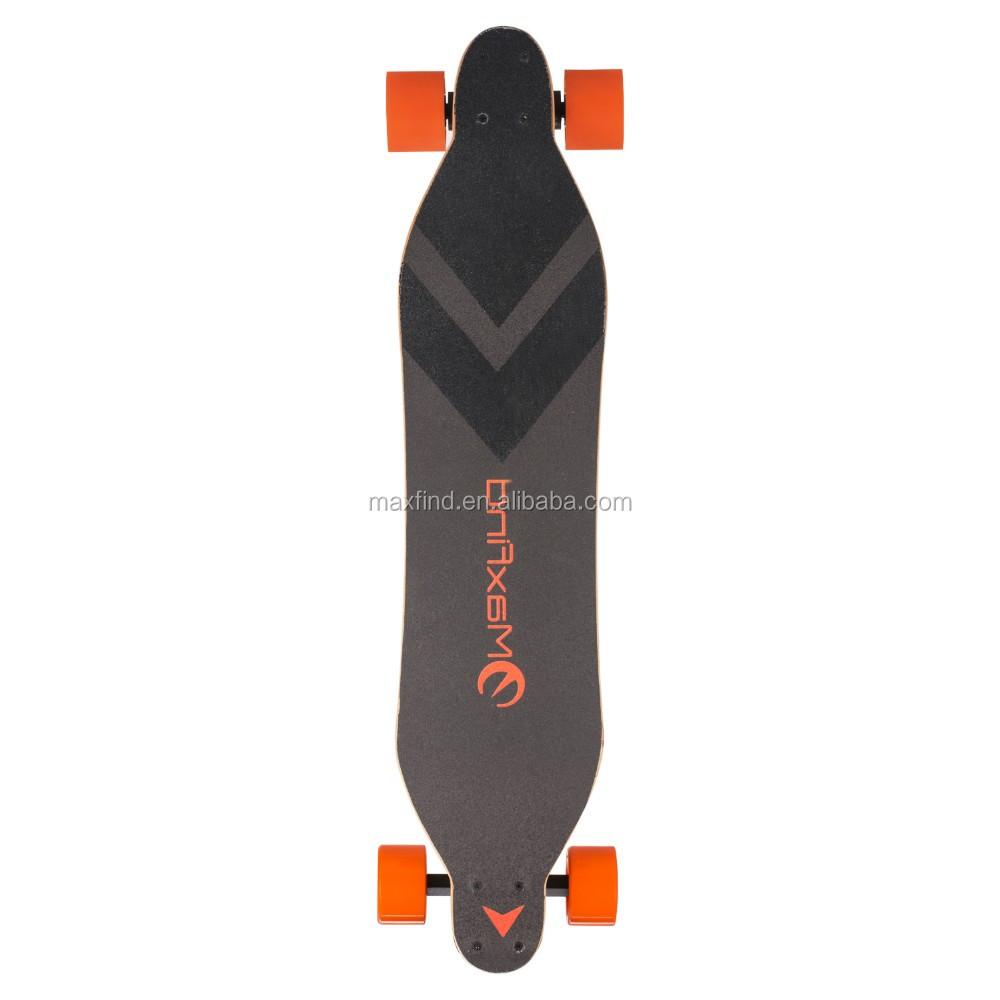 Mini electric skateboard electronic skate longboard powerful motor longboard