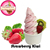 HACCP ISO Strawberry kiwi soft ice cream powder