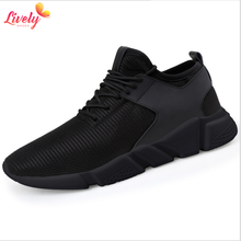 Cheap men casual shoe with lace PVC footwear for men fashion running shoes
