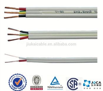 Ce/vde Approved 20kv Electric Wire For House Wiring Flat Tps Cable ...