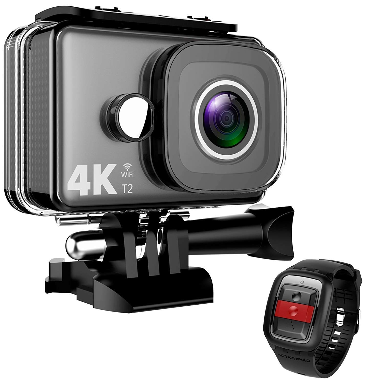 BEAN 4K Action Camera WiFi 14MP Ultra HD Waterproof Sports Cam 148ft 45M