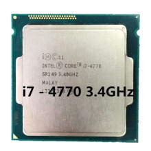 Core i7 4th Gen 3,4 GHz <span class=keywords><strong>Intel</strong></span> I7 4770 cpu 1150 desktop prozessor