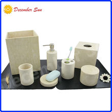 hot sell home design household toilet marble bathroom set
