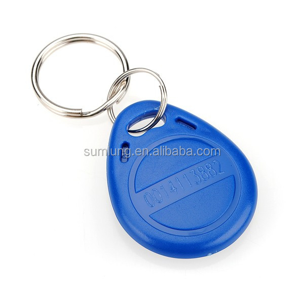 100pcs/bag 125KHz RFID EM Proximity ID Keyfobs for Access Control System TK4100 ID Token RF Key Tag
