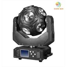 disco club led 12x12W 4-in-1 RGBW LED Magic beam ball Rotating Infinite moving head led stage light