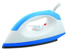 SY-601 CB/CE approved Dry Iron with Basic Dry Ironing Function and with SS or non-stick teflon coated plate