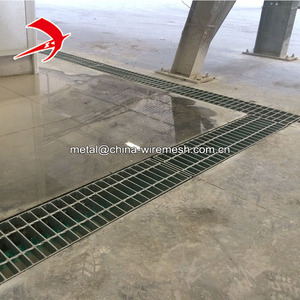 Trench cover steel grate price rainwater gully decking ms drain grating