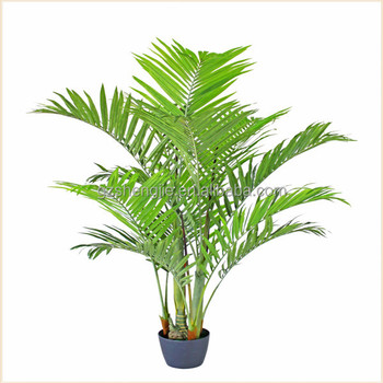 china making artificial bamboo palm plant tree decorative house