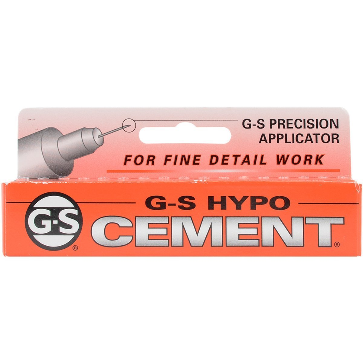 G&S Adhesive, Cement GS Hypo Tube (1/3 fl oz) - X001 by