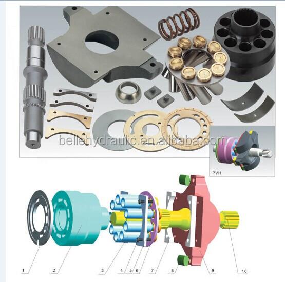 Vickers PVH57 hydraulic pump spare parts PVH57/74/98/131/141