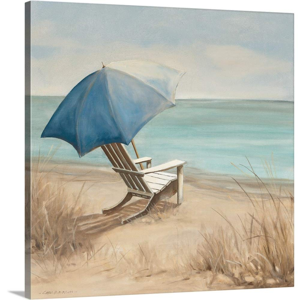 """Gallery-Wrapped Canvas Entitled Summer Vacation I by Carol Robinson 20""""x20"""""""