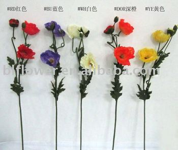Artificial poppy flower yl030 buy artificial poppy flower artificial poppy flower yl030 mightylinksfo