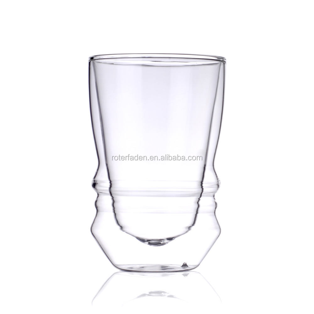 Double wall Glass Espresso Coffee and Wine Cup