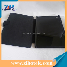 Leather sublimation flip wallet cover case for iPad mini with Hasp