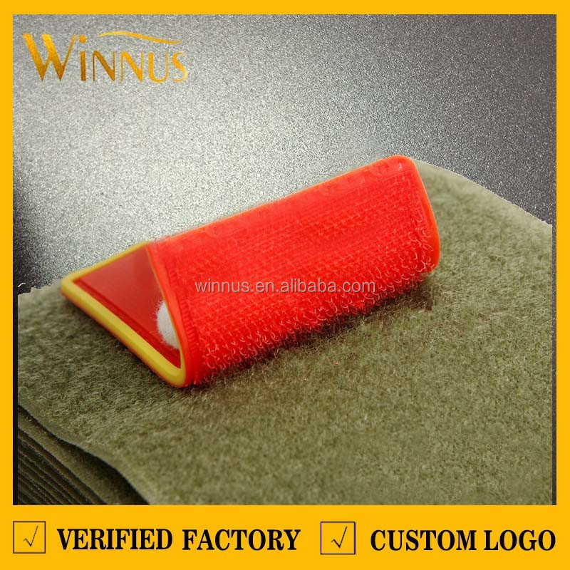 custom color pvc rubber american flag patch, usa flag patch