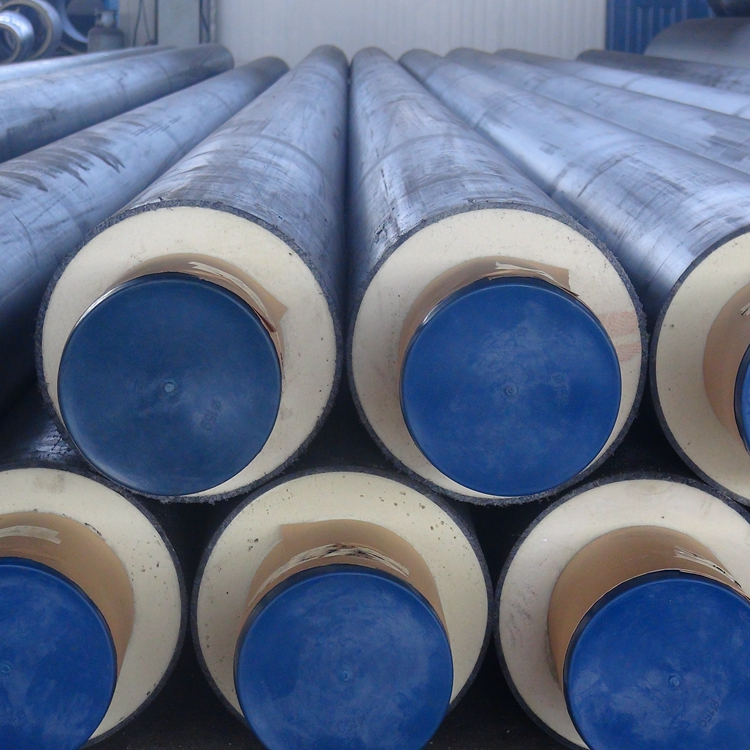 Polyurethane 3 inch foam pipe direct burial pipe steel insulation pipe types