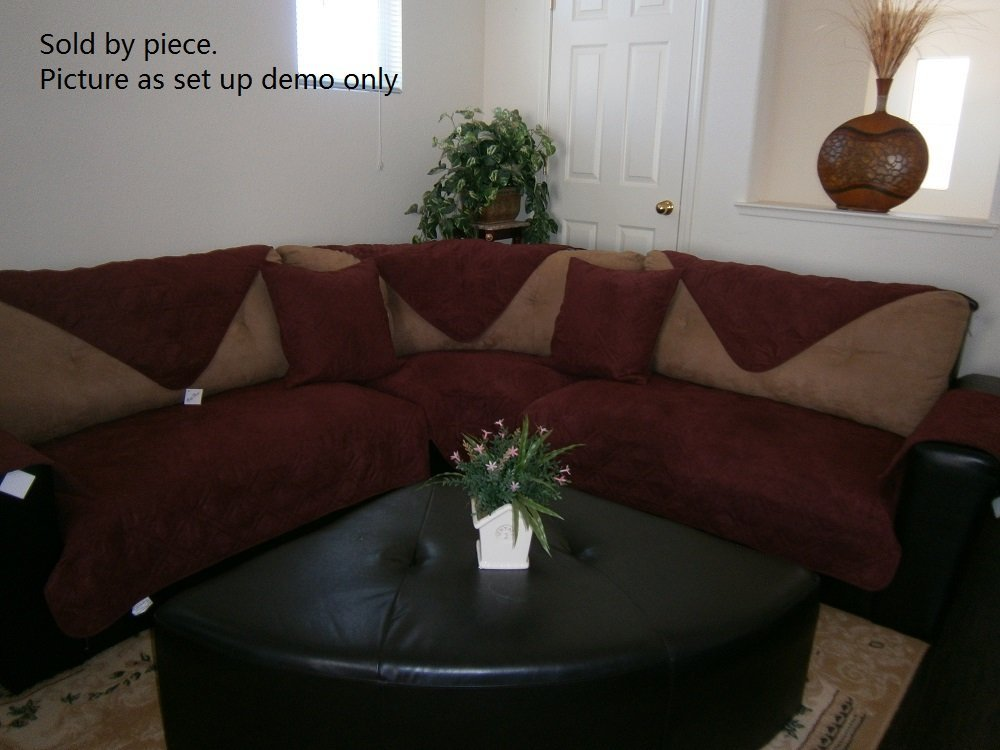 buy octorose bonded micro suede quilted sectional deep seats sofa rh guide alibaba com