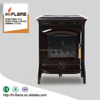 2016 Steel material real fire wood stove type wood burning heater HF905UCE Brown