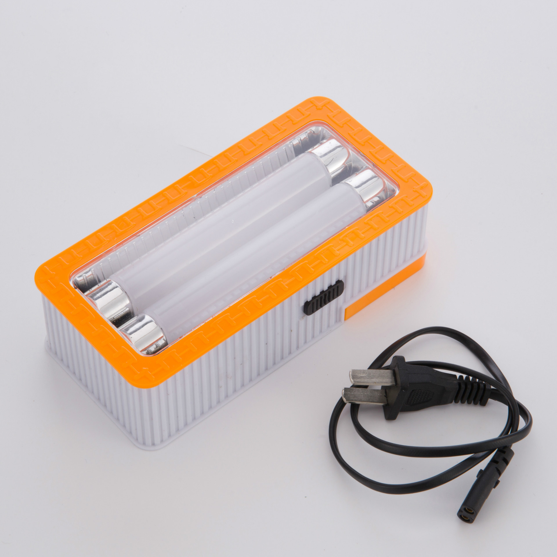 New led plastic portable outdoor wall-mounted mini flashlight
