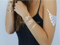 2015 crazy silver stamping custom girls intimate temporary tattoo