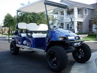 plans on stretching a golf cart into a limo