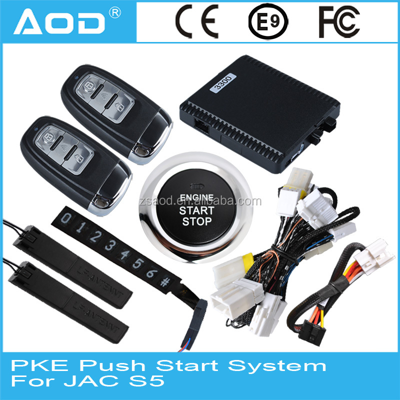 keyless go entry system push start stop with gps tracking. Black Bedroom Furniture Sets. Home Design Ideas
