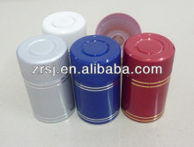 2013 Newest Design hot sale colored 58mm Flip top plastic bottle caps for whisky vodka and wine