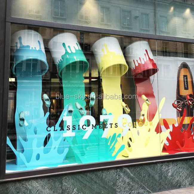 2019 Best Fashion Visual Merchandising Props Voor Etalage Decoraties
